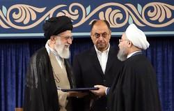 Leader formally backs Rouhani as president