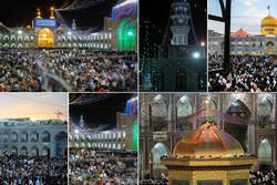 مشهد قبلهگاه زائران شمس الشموس(ع)؛ دلهایی که به ضریح گره میخورد