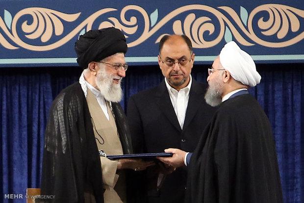 Hasan Ruhani'nin görevi devralma töreni düzenlendi