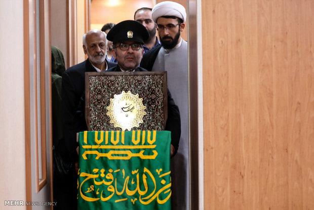 خادمین حرم رضوی وارد بوشهر شدند