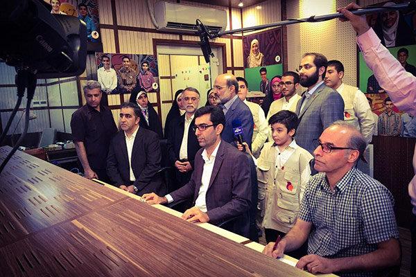 رییس رسانه ملی شبکه امید را افتتاح کرد/ تغییر هویت بصری و گرافیک