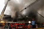 سعودی عرب کے شہر جدہ کی 3 عمارتوں میں آگ لگ گئی