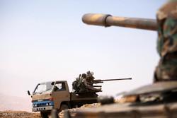 دفع یورش داعش در حومه حمص