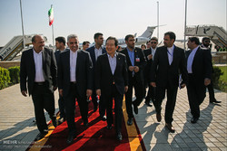 Rouhani's inaugural ceremony guests welcomed in Iran