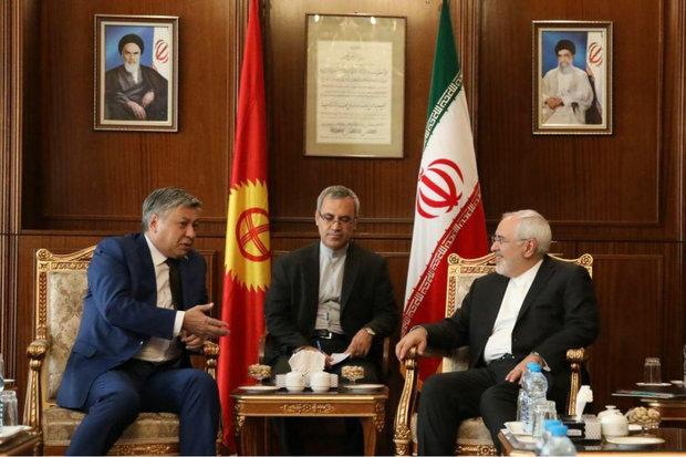ظريف يؤكد رغبة طهران في تعزيز التعاون مع بودابست في جميع المجالات