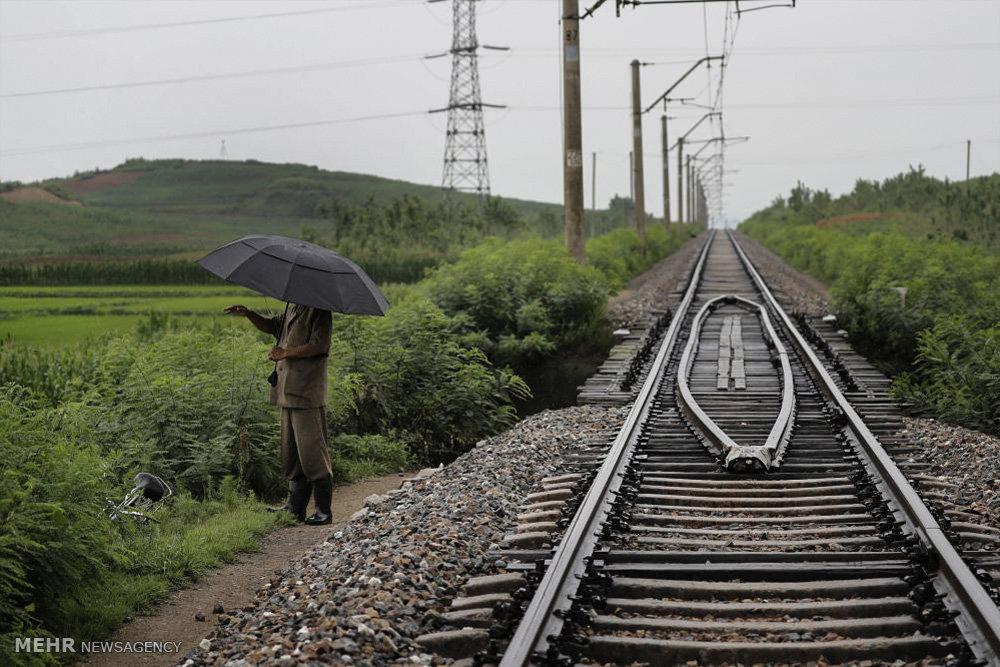 روزهای گرم تابستان در کره شمالی