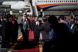 ورود مهمانان خارجی شرکت کننده در مراسم تحلیف رئیس جمهور