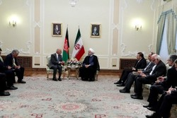 Rouhani vows full support for Afghanistan stability