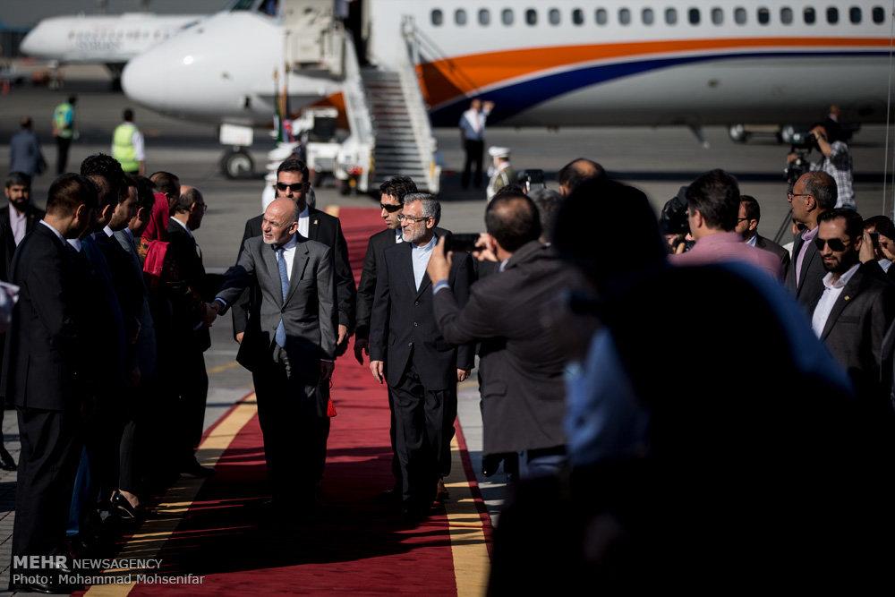 ورود مهمانان خارجی شرکت کننده در مراسم تحلیف رئیس جمهور - ۲