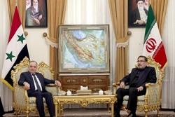 Syrian PM slated to meet with Shamkhani