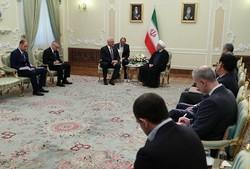 روحاني يرحب بفكرة إنشاء مشاريع مشتركة بين إيران وبلاروسيا