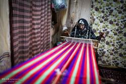 İran'ın geleneksel tekstil başkentinden kareler