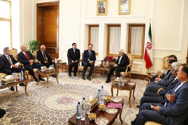 İran Dışişleri Bakanı ile Bosna Hersek Halklar Meclisi Başkanı görüştü