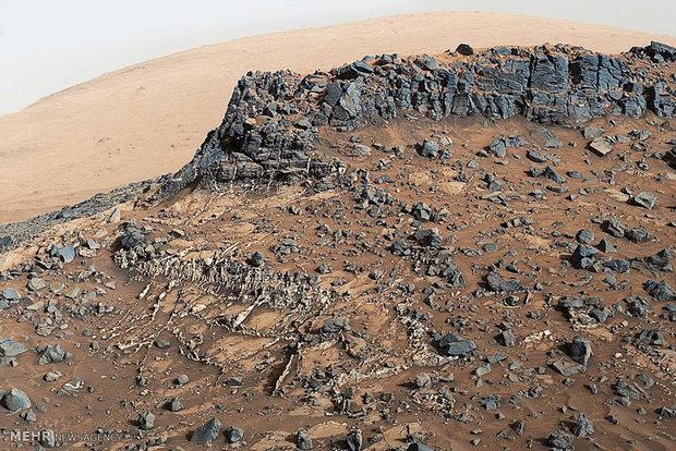احدث الصور من المريخ