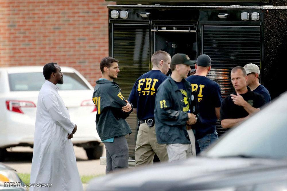 حمله به مسجدی در آمریکا