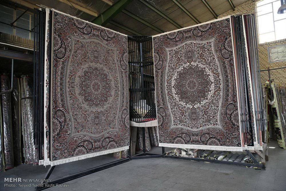 فرش هایی از جنس تلاش