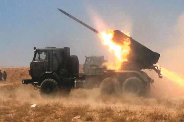 صحنه هایی از نبرد ارتش سوریه و حزب الله لبنان با داعش در القلمون
