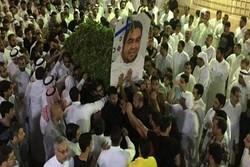 Suudi Arabistan'daki Şii şehitlerin cenaze töreni