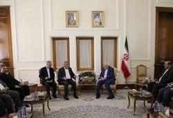 Zarif Tahran'da Hamas heyetini ağırladı