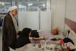 برنامه اهدای خون در درمانگاه تخصصی بوعلی سینای گویم اجرا شد