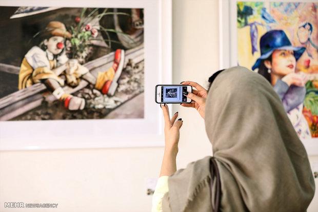 Tahran'da suluboya resim sergisi
