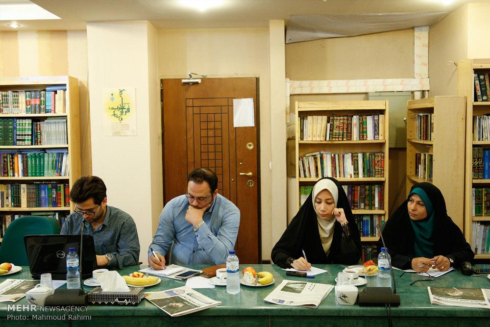 مراسم تکریم و تجلیل از اصحاب رسانه حوزه قرآن و عترت