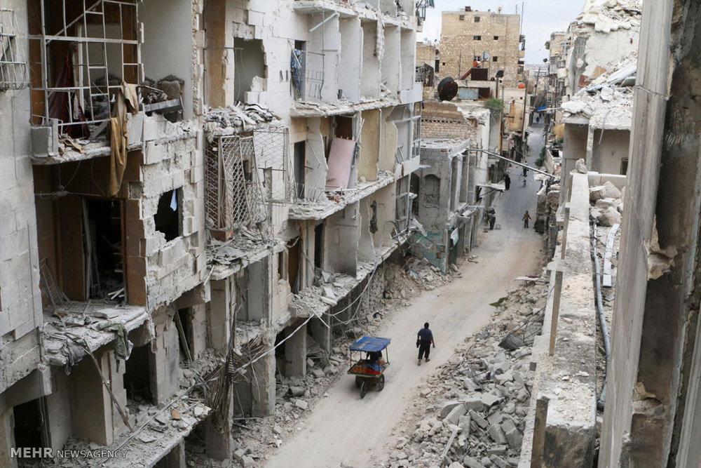 بازسازی شهر قدیمی حلب
