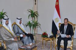 پیام کتبی امیر کویت تسلیم رئیس جمهور مصر شد