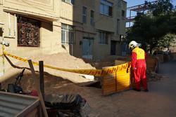 دو کارگر درپی ریزش چاه در شیراز جان باختند