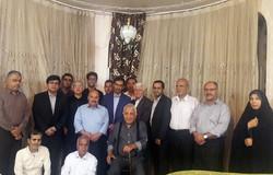 دیدار اهالی فرهنگ و هنر با پیشکسوت فرهنگی شهرستان جهرم