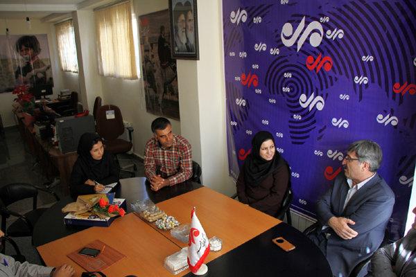فریبا مرادی مدیر کل پست کردستان
