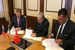 Iran, Turkey, Russia ink oil coop. agreement