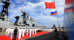 Russia, China to hold second stage of joint naval drills in Sep.