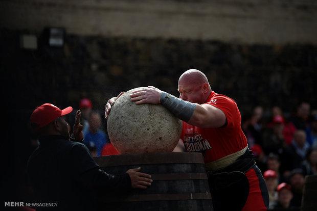 مسابقات قوی ترین مردان جهان