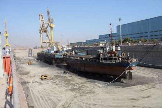 افتتاح حوضهای خشک تعمیر کشتی در هرمزگان