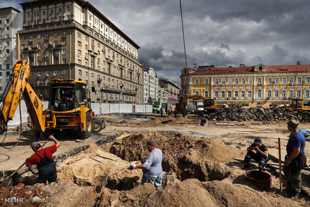 إعادة إعمار موسكو