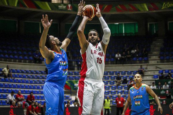 ايران تفوز على الهند في اولى مبارياتها ببطولة آسيا لكرة السلة