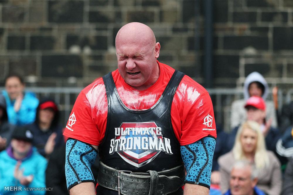 عکس هایی از مسابقات قویترین مردان جهان.