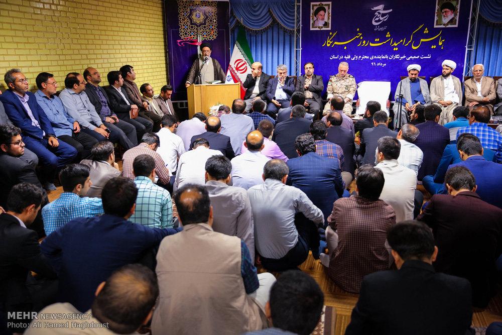 مراسم بزرگداشت روز خبرنگار در تبریز