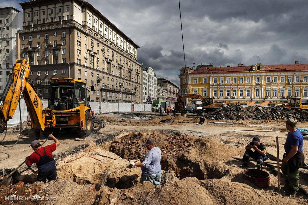 نوسازی شهر مسکو