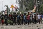 ۲ نفر در اعتراض به پیروزی «کنیاتا» در انتخابات کنیا کشته شدند