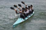 Female paddlers compete in Tehran