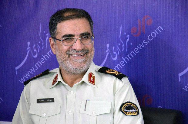 سردار علی اکبر جاویدان فرمانده انتظامی گلستان