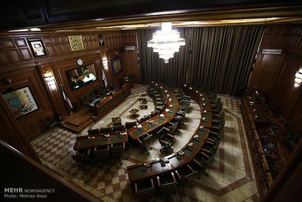 جلسه منتخبین شورای اسلامی شهر تهران