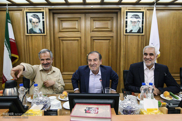 Tehran City Council session on Thursday