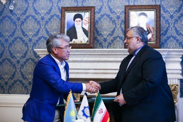 امضای برنامه مبادلات فرهنگی ایران و قزاقستان