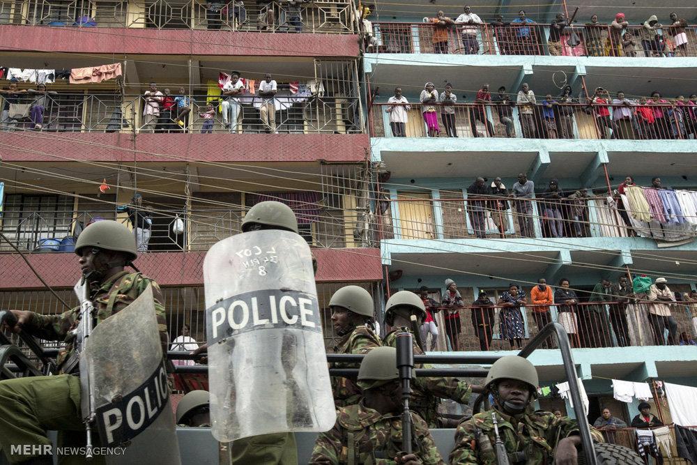 اعتراضات بعد از انتخابات در کنیا