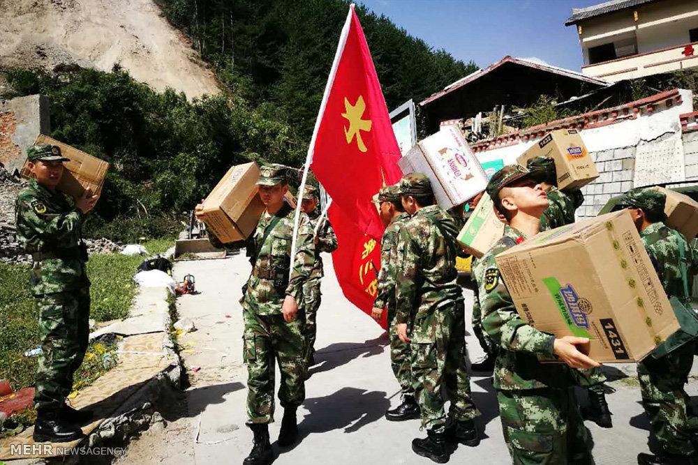 وقوع زلزله در چین