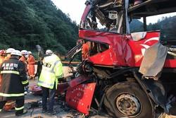 36 قتيلا على الاقل في حادث سير في الصين