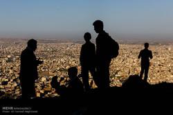 Tebriz'de aile yürüyüşü etkinliği